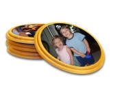 Round Maple Coasters