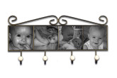 Wrought Iron Frame With Bead Hooks
