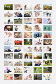 55 Photo Collage Poster - 24x36
