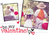 5x7 Card: Be My Valentine!