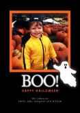 5x7 Card: Boo!