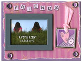 Scrapbook Magnet - Friends