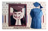 Scrapbook Magnet - Graduation